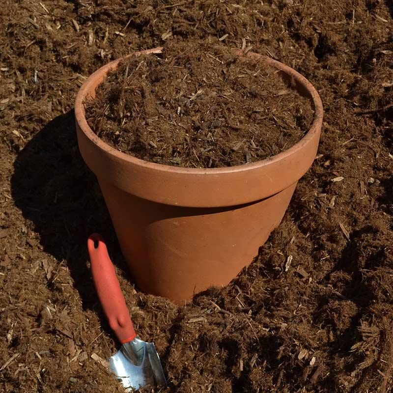 Shredded Redwood Bark Soils Plus Soils Aggregates